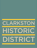 Clarkston Historic District Logo